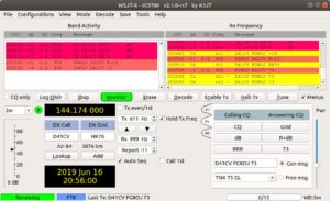 A brief of a first transatlantic QSO on the 2 meters band…